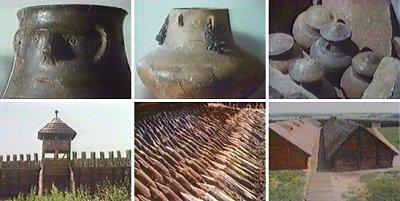 Resti archeologici sulla via dell'ambra