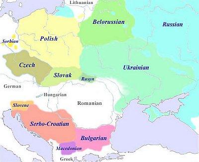 Area linguistica slava