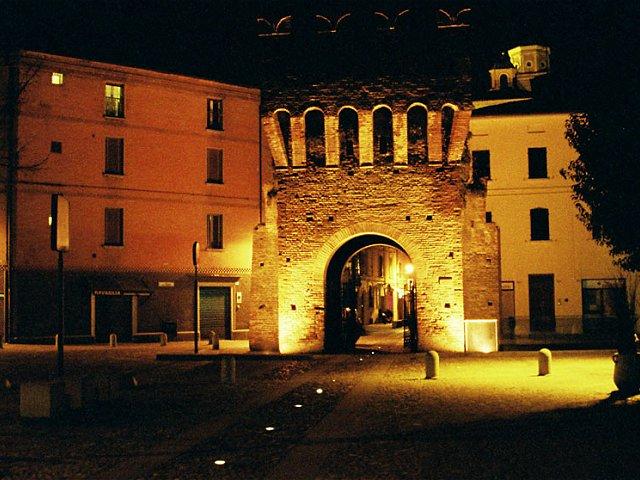 Tutte le fortificazioni della provincia di bologna in - Porta montanara imola ...