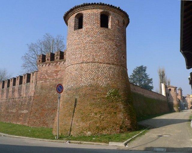 Tutte le fortificazioni della provincia di pavia in - Finestre castelli medievali ...