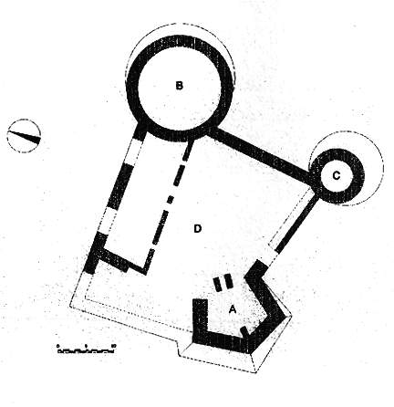 Castelli della puglia provincia di foggia castelpagano for Cortile circolare