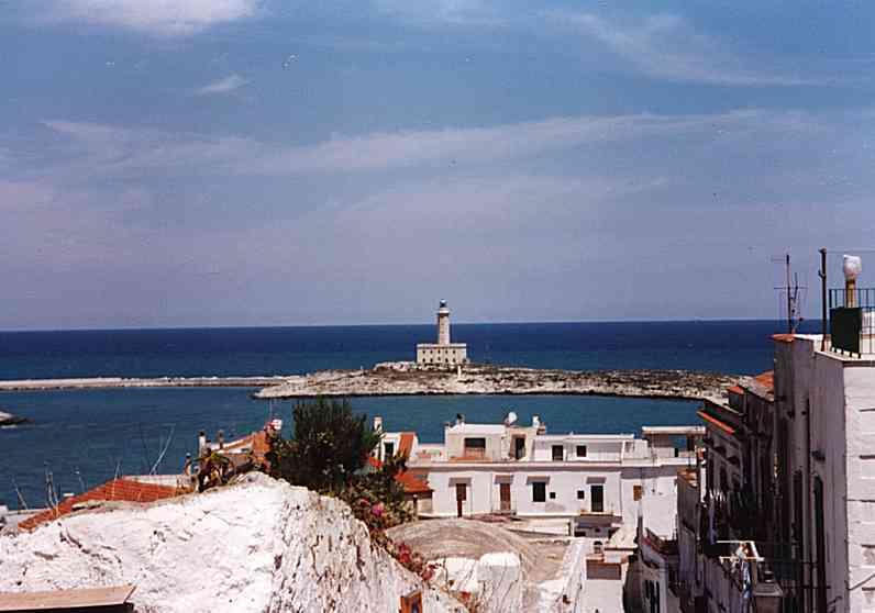 Castello di Vieste, Castelli della Puglia, provincia di