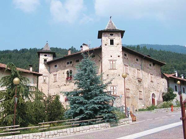 Castelli della provincia di trento pagina 1 castelli del for Castel vasio