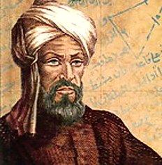 "Photo of Muḥammad ibn Mūsā al-Khwārizmī, the ""Father of Algebra"""
