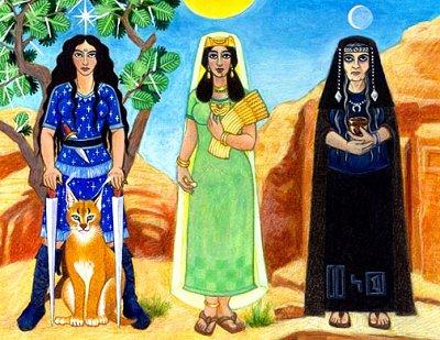 Le figlie del Dio (Manat, Lat, Uzza)
