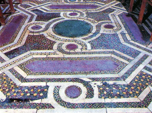 Pavimenti In Cotto Con Mosaico : Bagni mosaico ceramica