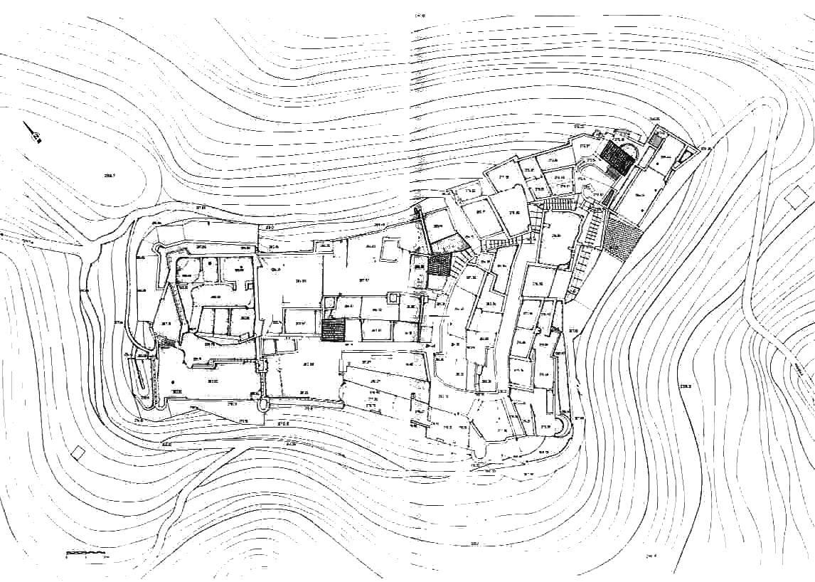 Castelli della toscana provincia di massa moneta for Planimetrie della camera a castello