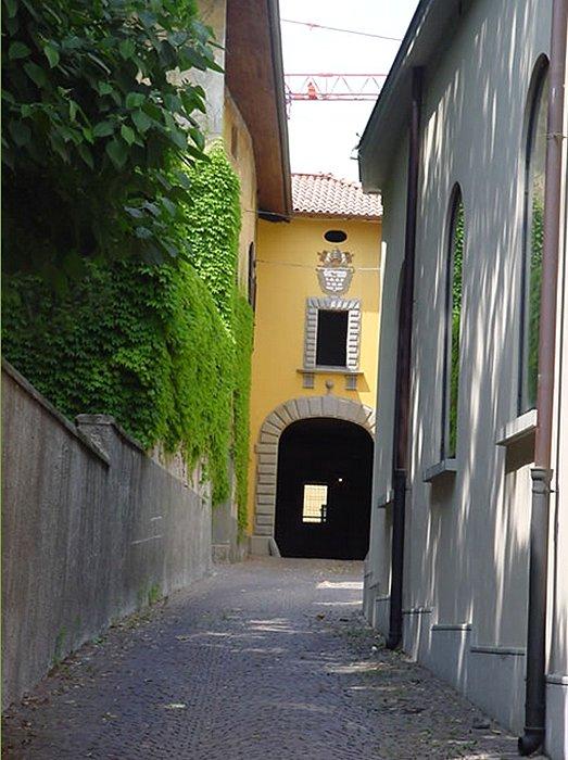 Tutte le fortificazioni della provincia di como in sintesi for Interno della torretta vittoriana