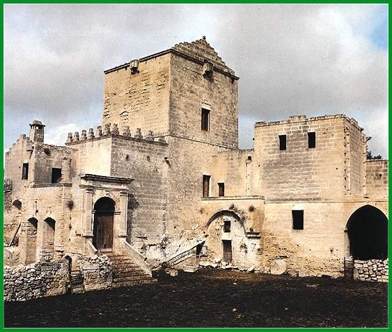 Masseria fortificata San Francesco, com'era