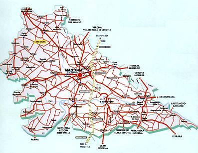 Cartina Geografica Della Provincia Di Mantova.Castelli Della Lombardia Provincia Di Mantova