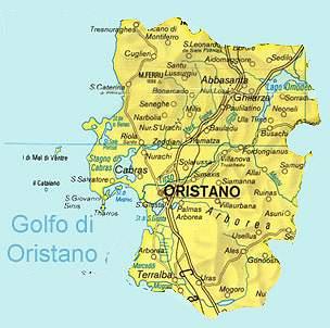 Cartina Sardegna Oristano.Castelli Della Sardegna Provincia Di Oristano Pagina 1