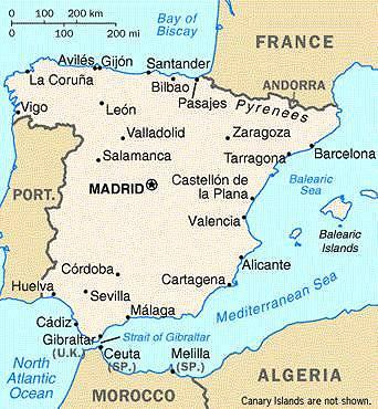 spanish castles castelli della spagna castelli europei