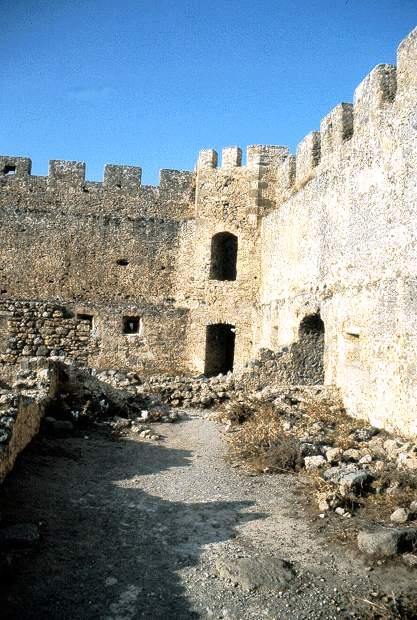 Creta il forte di frangokastello a c di giuseppe m for Interno della torretta vittoriana